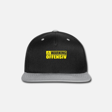 Offense WARNING OFFENSIVE - Snapback Cap