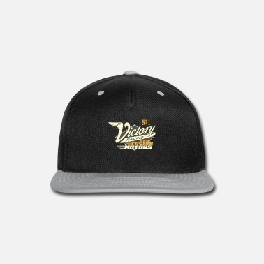 Rockabilly Gift for Rockabillys and Bikers No1 Victory Racing - Snap-back Baseball Cap