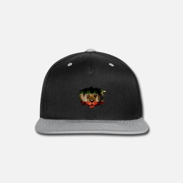 Persia Persia Flag & African Lion Picture - Snapback Cap