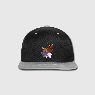 Insect a beautiful butterfly, peacock, flower, insect - Snap-back Baseball Cap
