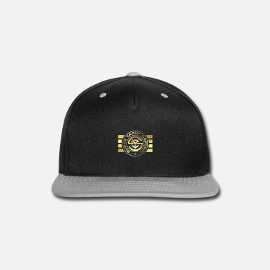Yacht Super Yacht Captain Logo with Stripes - Snapback Cap