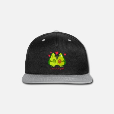 Partner I avocado you! St Valentines Love Vegan Gifts. - Snapback Cap
