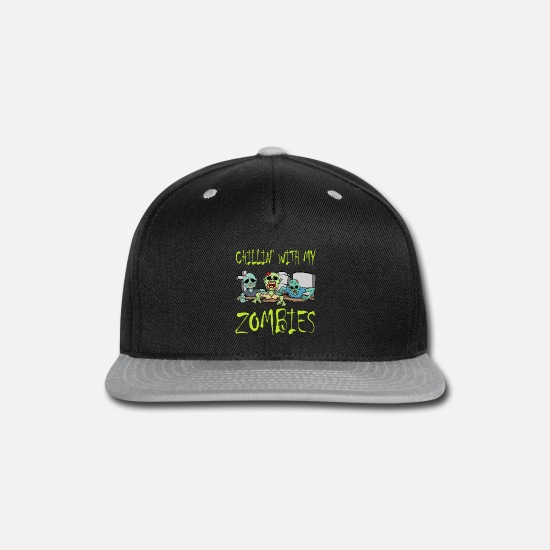 2019 Caps - Cool Zombie Shirt For Yourself? Here's An Awesome - Snapback Cap black/gray