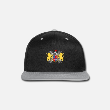 Knights Cross Helm Logo Castle Lover Great gift idea for every - Snapback Cap