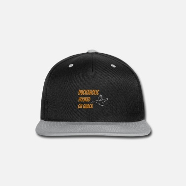 Waterfowl DUCK HUNTING: Hooked On Quack - Snapback Cap