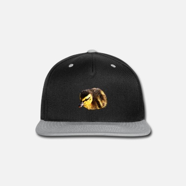Bird Picture Ducks chicks, birds, baby animals - Snapback Cap