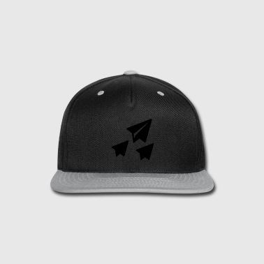 Paper Paper rocket - Snap-back Baseball Cap
