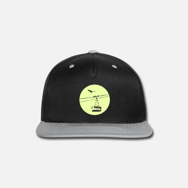 Hawk Gondola / cable car with eagle green - Snapback Cap