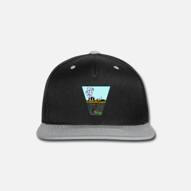 Chernobyl nuclear power repository problem - plato - Snapback Cap