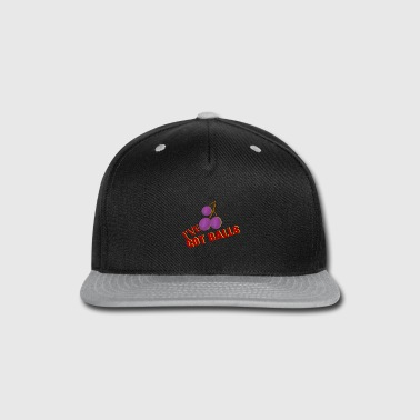Production Year I have got Balls - Courageous - Snap-back Baseball Cap
