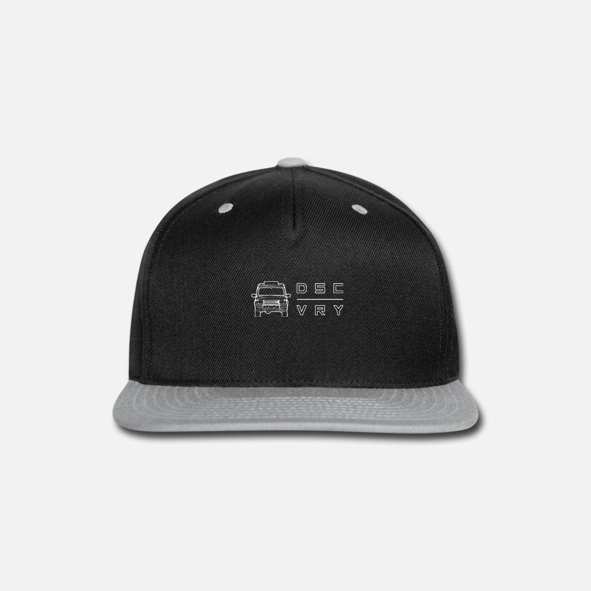 32757bf99 LND RVR Discover Snap-back Baseball Cap - black/gray