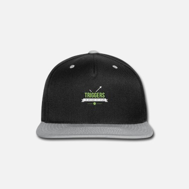Magic The Gathering Triggers - Magic the Gathering Funny - Snap-back Baseball Cap