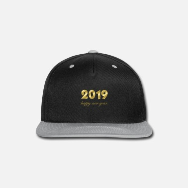 Production Year happy new year 2019 products - Snap-back Baseball Cap
