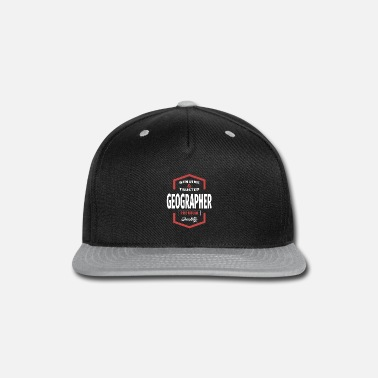 Geographic Geographer - Snap-back Baseball Cap