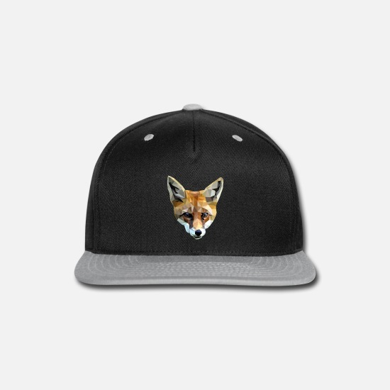 Art Caps - Fox - Snapback Cap black/gray