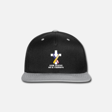 Support Our Troops God Bless Our Troops - Snapback Cap