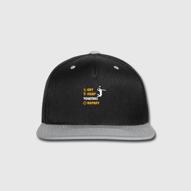 Volleyball - present for men and women - Snap-back Baseball Cap