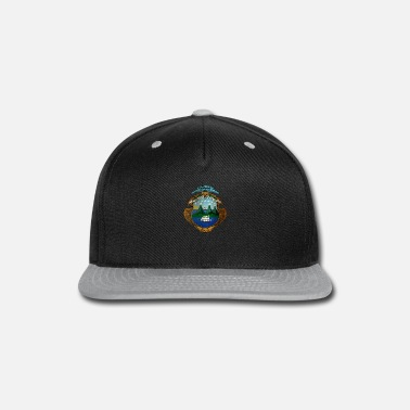 Costa Rica Costa Rica Coat of Arms - Snap-back Baseball Cap
