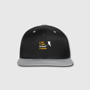 Hockey Ice Hockey - present for men and women - Snap-back Baseball Cap