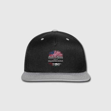 American Eagle American grown with palestinian roots original - Snap-back Baseball Cap
