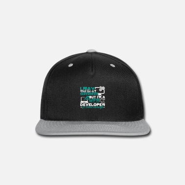 Web I'm A Web Developer Shirt - Snap-back Baseball Cap