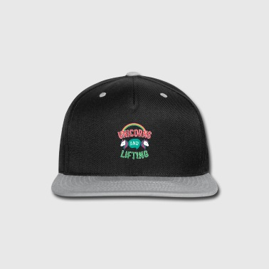Lifted Unicorns And Lifting - Snap-back Baseball Cap