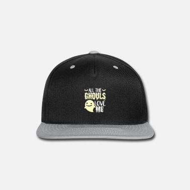 Clown all the ghouls love me funny gift - Snap-back Baseball Cap