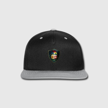 Shiny Aruba Coat of Arms - Snap-back Baseball Cap