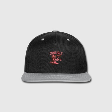 Pony Cowgirls are Cuter - Snap-back Baseball Cap