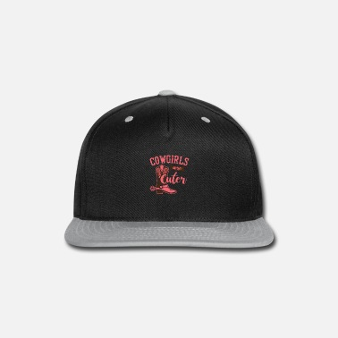 Stallion Cowgirls are Cuter - Snap-back Baseball Cap