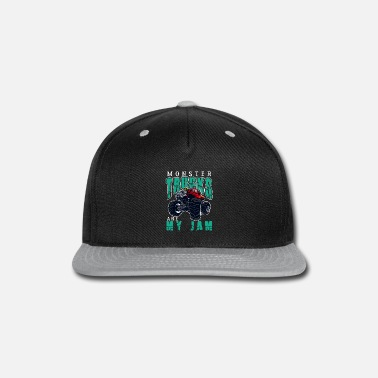 Monster Monster Trucks Are My Jam - Snapback Cap