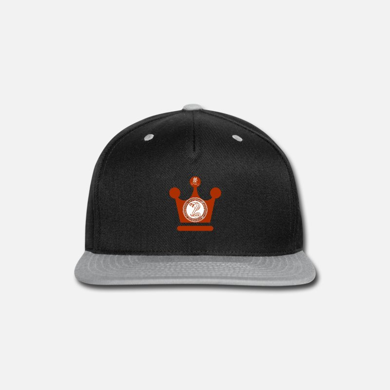 5506d7553d1 Design Caps - BPB BulletProofBuilt King Cobra - Snapback Cap black gray