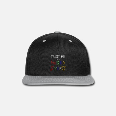 Robot nerd - Snap-back Baseball Cap