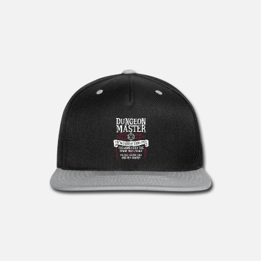 Dungeons And Dragons Dungeon Master, The Weaver of Lore & Fate - Snap-back Baseball Cap