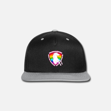 Princess Unicorns are Born in August Girls Birthday Gift - Snap-back Baseball Cap