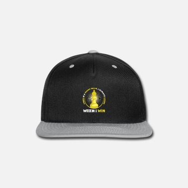 Brain chess - Snap-back Baseball Cap