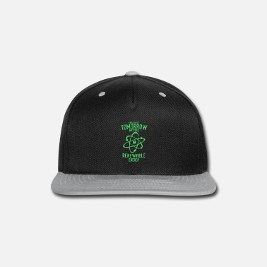 Turbine Renewable energies last longer - Snap-back Baseball Cap