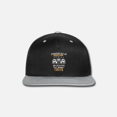 Transport Truck Shirt - Transport - addiction - Snap-back Baseball Cap
