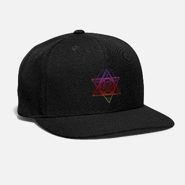 Electronic Music Techno Ring Pentagram Electronic Music Club Sound - Snapback Cap