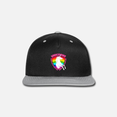 Color Unicorns are Born in November Girls Birthday Gift - Snap-back Baseball Cap