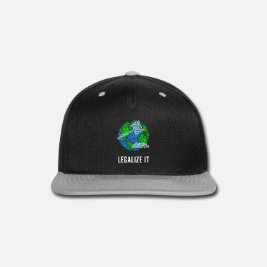 Cannabis Legalize It - Snap-back Baseball Cap