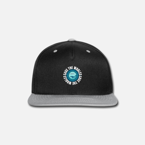 9ebdb5ac3aa Save the Whales Protest March Snapback Cap