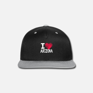 Town I Love Arizona Tourist Gift - Snap-back Baseball Cap