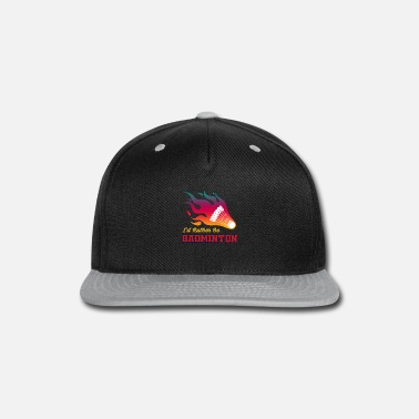 Ball Sport Badminton Ball Sports Fire - Snap-back Baseball Cap
