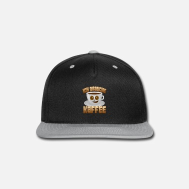 Tea Coffee espresso gift cappuccino drink early - Snap-back Baseball Cap