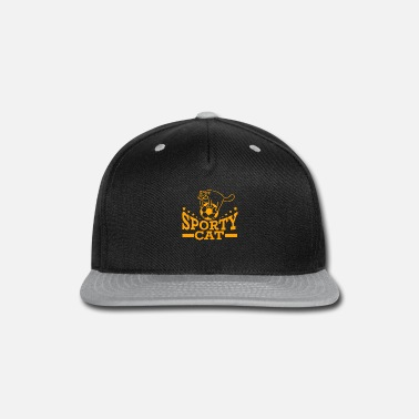 Sporty Sporty Cat - Snap-back Baseball Cap