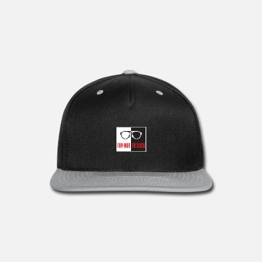 Sidereal Funny Baseball Saying - Try Not To Suck Motivation - Snapback Cap