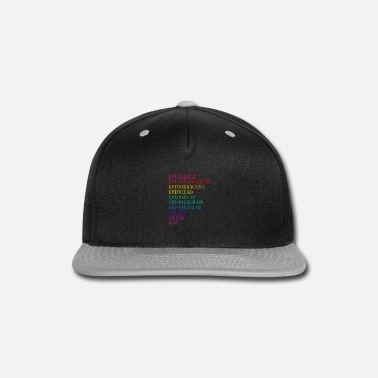 Over Love Over Hate, Love Over Indifference - Snap-back Baseball Cap