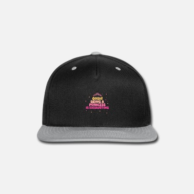 Birthday Father Crown Princess Little Daughter Gift - Snap-back Baseball Cap