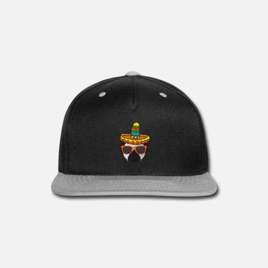 9469ef8272ce Dog Owner Caps - Funny Sombrero Pug T Shirt Dog Lover Cinco De Mayo -  Snapback